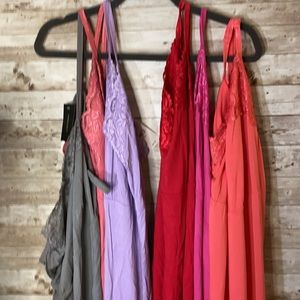 Lane Bryant Cami's, 6 Multiple colors, size 14/16